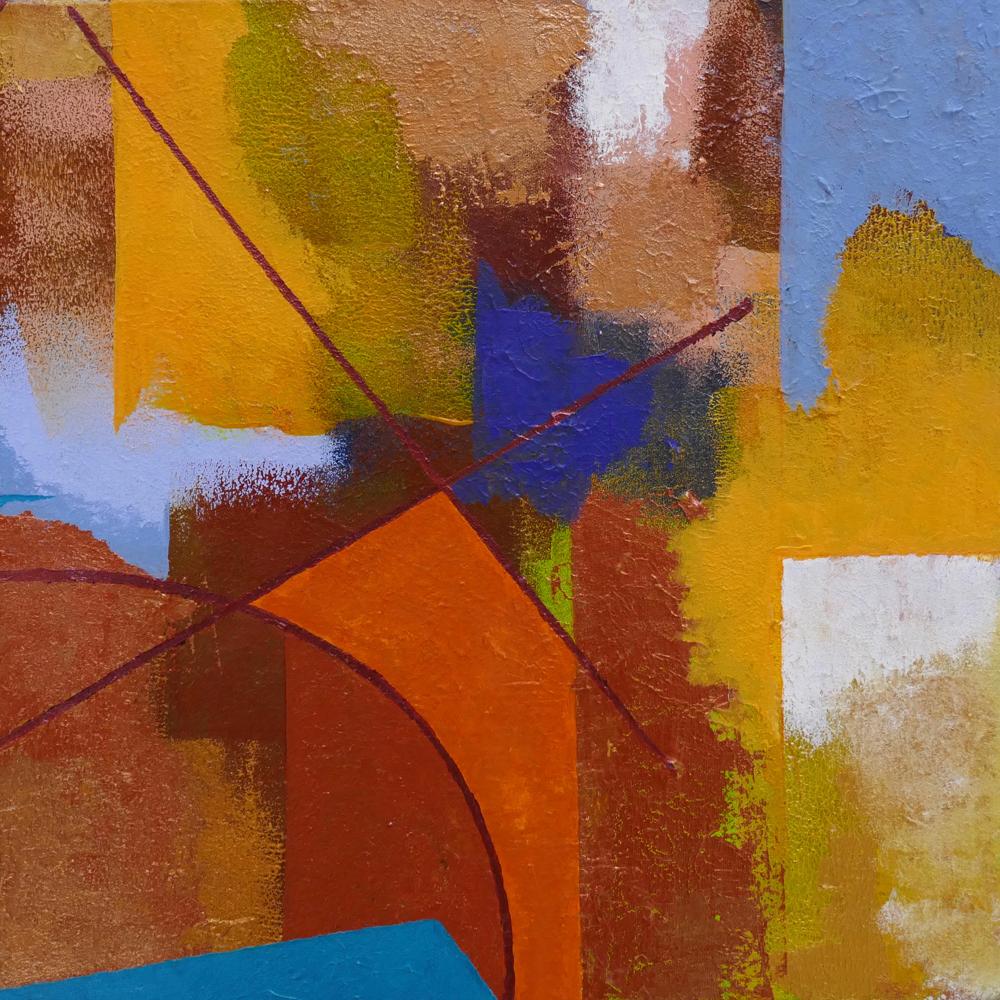 Dyptic II,acrylic,40x40